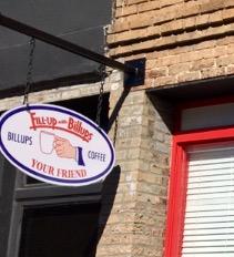 Billups restaurant located on The Square